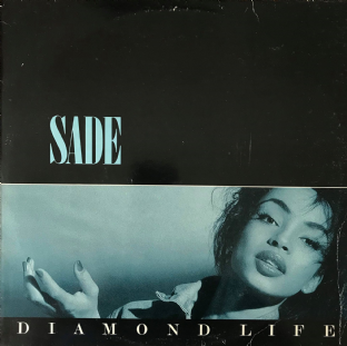 Sade - Diamond Life (LP) (G/G-)